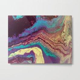 Geode Metal Print