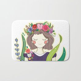 Spring is here! Bath Mat