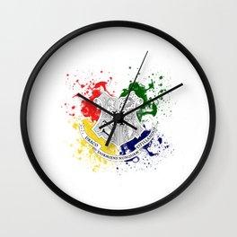 draco dormiens nunquam titillandus Wall Clock
