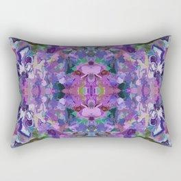 136 - Garden design Rectangular Pillow