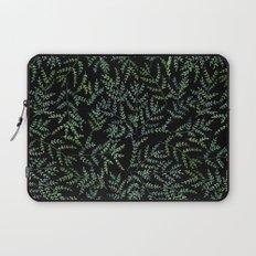 Watercolor leaf pattern Laptop Sleeve