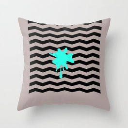 The Red Room Throw Pillow