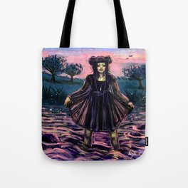 Water Witch Sunset Cleanse Tote Bag