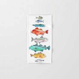 Fish Hand & Bath Towel