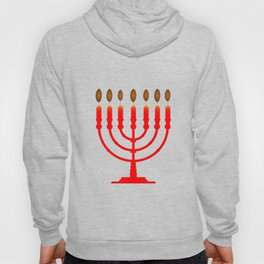 Menorh With Seven Candles Hoody
