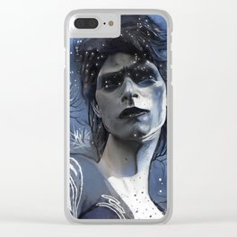 Wintry David Clear iPhone Case