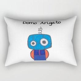Domo Arigato Mr. Roboto Rectangular Pillow
