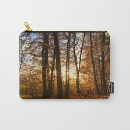 Forest walk in the evening sun Carry-All Pouch