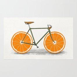 Zest (Orange Wheels) Rug