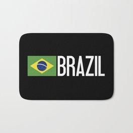 Brazilian Flag Bath Mat
