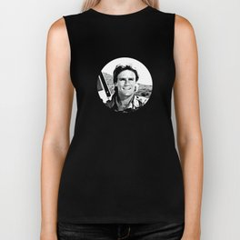 MacGyver said: Only a fool is sure of anything. A wise man keeps on guessing Biker Tank