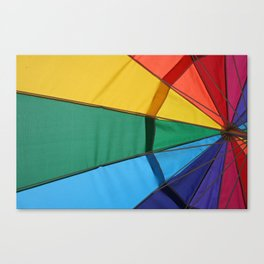 We live in a colorful world Canvas Print