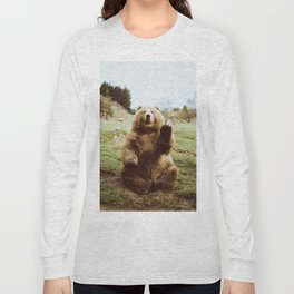 Hi Bear Long Sleeve T-shirt