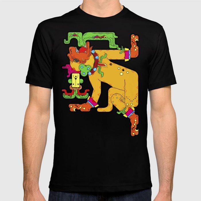 Yaxchilan - Maya Tiger T-shirt