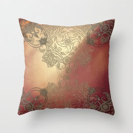 By Eternal Time Throw Pillow