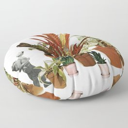 It's a Jungle Out There Floor Pillow