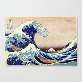 Katsushika Hokusai The Great Wave Off Kanagawa Canvas Print