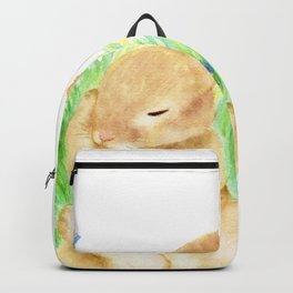 Snoozing Hare Backpack