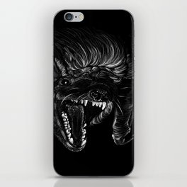 Brown Bat iPhone Skin