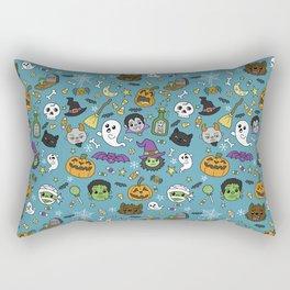 Spooky Doodles Rectangular Pillow