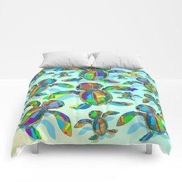 Baby Sea Turtle Fabric Toy Comforters