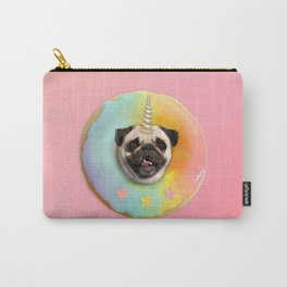 Unicorn Pug Pastel Donut Carry-All Pouch