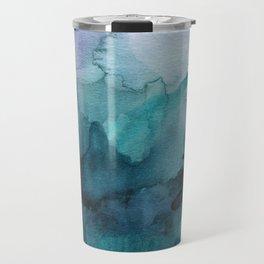 Dream away abstract watercolor Travel Mug