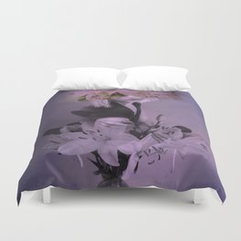 The girl who wanted to be a flower Duvet Cover