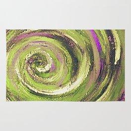 Spiral nature Rug