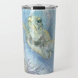 West Palm Beach Turtle Travel Mug