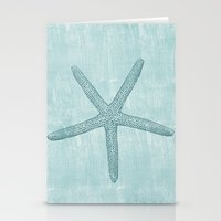 starfish Stationery Cards featuring Starfish by Zen and Chic