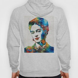 Frida Kahlo Art - Viva La Frida - By Sharon Cummings Hoody