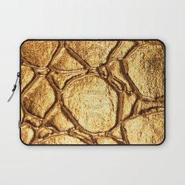 Golden tortoise shell Laptop Sleeve