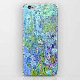 Water Lilies monet : Nympheas iPhone Skin