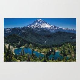 Tolmie Peak Mt Rainier Eunice Lake Rug