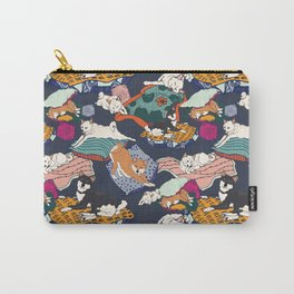 Lounging Shibas Carry-All Pouch