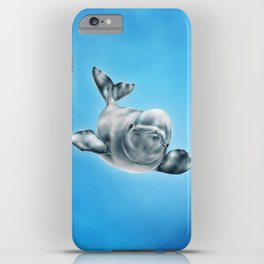 Beluga iPhone Case
