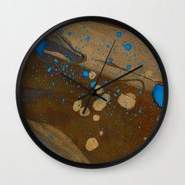 joelarmstrong_rust&gold_072 Wall Clock