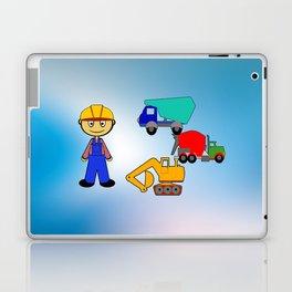 Kleiner Bauarbeiter Laptop & iPad Skin