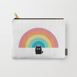 Rainbow Cat Carry-All Pouch