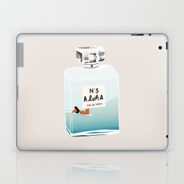No.5 Aloha, hawaii art, aloha art, summer art, perfume art Laptop & iPad Skin
