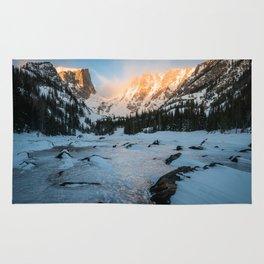 Dream Lake Sunrise Rug