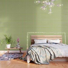 Mirnd Century Modern Green Seamless Patte Wallpaper