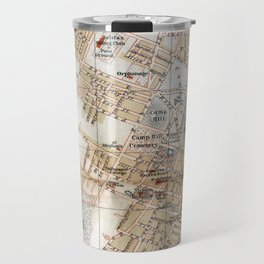 Vintage Map of Halifax Nova Scotia (1890) Travel Mug