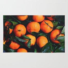 Tropical Poncan Oranges Rug