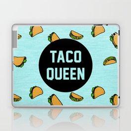 Taco Queen - blue Laptop & iPad Skin