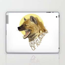 Laugh In The Face Of Adversity Laptop & iPad Skin