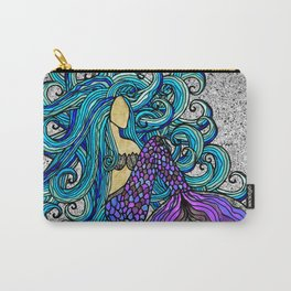 2017 Blue Mermaid Carry-All Pouch