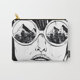 Mountain Views Carry-All Pouch