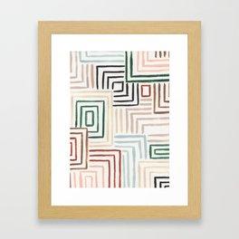 Maize Framed Art Print